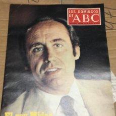 Coleccionismo de Los Domingos de ABC: LOS DOMINGOS DE ABC (20-8-1978) RUIZ MATEOS EN PORTADA MADRID ROCK ASFALTO ÑU . Lote 171698032