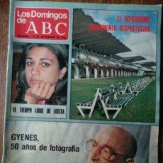 Coleccionismo de Los Domingos de ABC: LOS DOMINGOS DE ABC, NOV. 1980- GYENES- MINGOTE- IBIZA SOUND STUDIOS- PEUGEOT 505- MADRID EN OBRAS... Lote 183058436