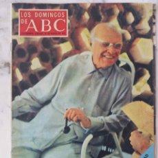 Collectionnisme de Los Domingos de ABC: LOS DOMINGOS DE ABC. MARZO 1971. CONVERSACIONES CON PABLO CASALS. REVISTA. Lote 173492588