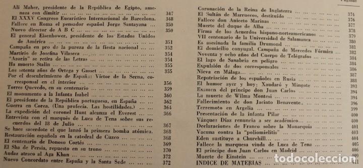 Coleccionismo de Los Domingos de ABC: TOMO ENCUADERNADO REVISTA ABC MEDIO SIGLO 1905 1955 FLORILEGIO GRANDES EPISODIOS PEQUEÑAS ANÉCDOTAS - Foto 3 - 174094862