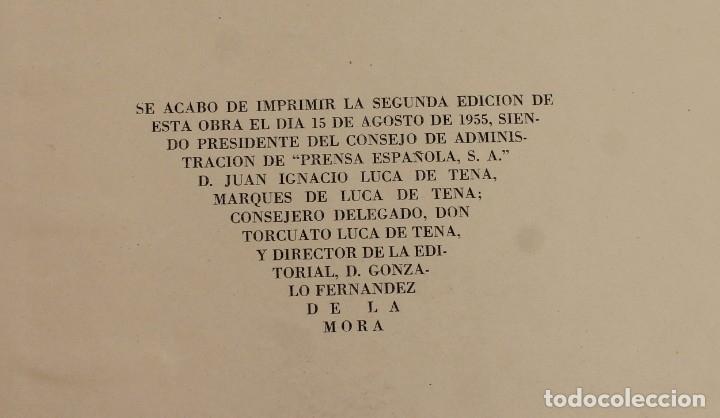 Coleccionismo de Los Domingos de ABC: TOMO ENCUADERNADO REVISTA ABC MEDIO SIGLO 1905 1955 FLORILEGIO GRANDES EPISODIOS PEQUEÑAS ANÉCDOTAS - Foto 4 - 174094862