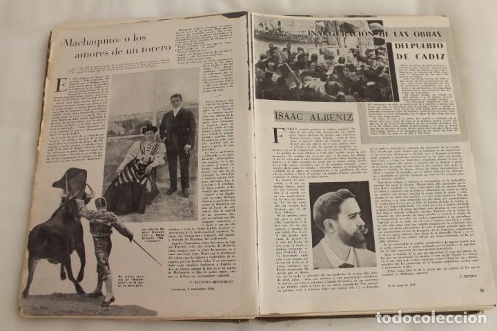 Coleccionismo de Los Domingos de ABC: TOMO ENCUADERNADO REVISTA ABC MEDIO SIGLO 1905 1955 FLORILEGIO GRANDES EPISODIOS PEQUEÑAS ANÉCDOTAS - Foto 6 - 174094862