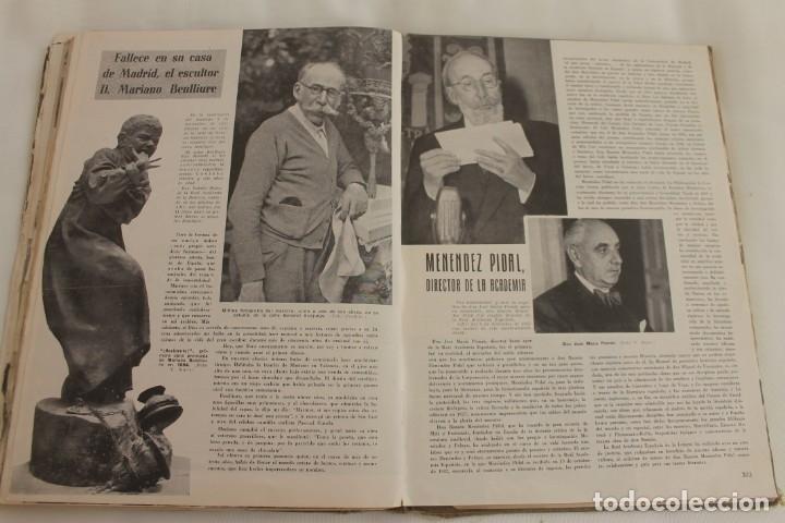 Coleccionismo de Los Domingos de ABC: TOMO ENCUADERNADO REVISTA ABC MEDIO SIGLO 1905 1955 FLORILEGIO GRANDES EPISODIOS PEQUEÑAS ANÉCDOTAS - Foto 10 - 174094862