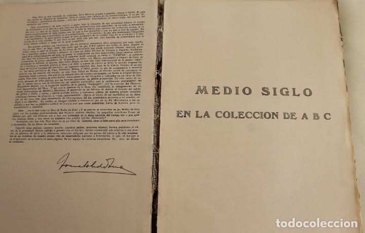 Coleccionismo de Los Domingos de ABC: TOMO ENCUADERNADO REVISTA ABC MEDIO SIGLO 1905 1955 FLORILEGIO GRANDES EPISODIOS PEQUEÑAS ANÉCDOTAS - Foto 13 - 174094862