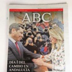 Coleccionismo de Los Domingos de ABC: ABC: CAMBIO HISTÓRICO DE GOBIERNO EN ANDALUCÍA. Lote 175086639
