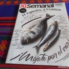 Coleccionismo de Los Domingos de ABC: XL SEMANAL ABC 1650. 9-6-19. PESCADO GRAN DOSSIER, 14 ESPECIES A EXAMEN, JUAN GENOVÉS.. Lote 175923765