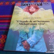 Coleccionismo de Los Domingos de ABC: XL SEMANAL ABC 1655. 14-7-19. JANET JACKSON, CLARA SÁNCHEZ, CATEDRAL DE NOTRE DAME. . Lote 175924069