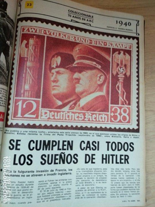 ANTIGUO LIBRO ABC 70 AÑOS, MAS DE 900 PAG. (Coleccionismo - Revistas y Periódicos Modernos (a partir de 1.940) - Los Domingos de ABC)