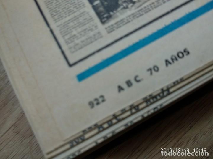 Coleccionismo de Los Domingos de ABC: ANTIGUO LIBRO ABC 70 AÑOS, MAS DE 900 PAG. - Foto 3 - 175935228