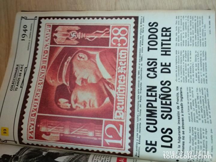 Coleccionismo de Los Domingos de ABC: ANTIGUO LIBRO ABC 70 AÑOS, MAS DE 900 PAG. - Foto 5 - 175935228