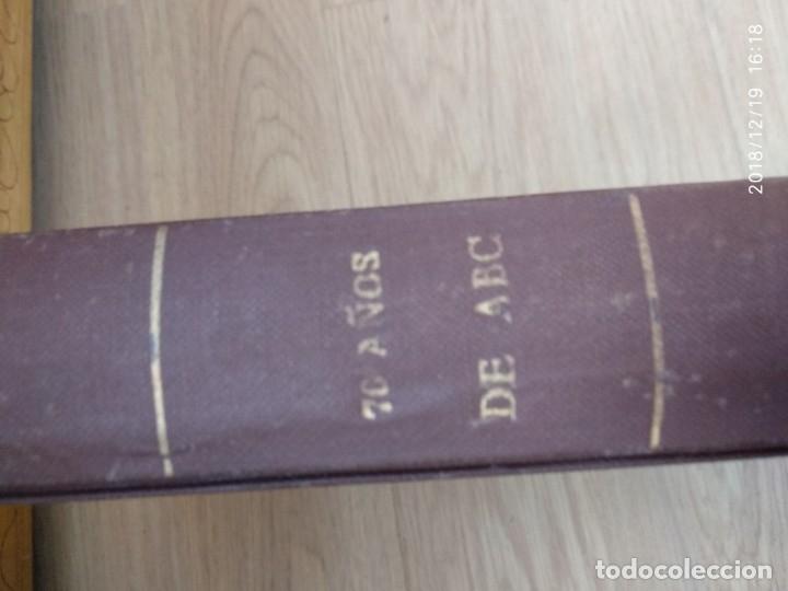 Coleccionismo de Los Domingos de ABC: ANTIGUO LIBRO ABC 70 AÑOS, MAS DE 900 PAG. - Foto 9 - 175935228