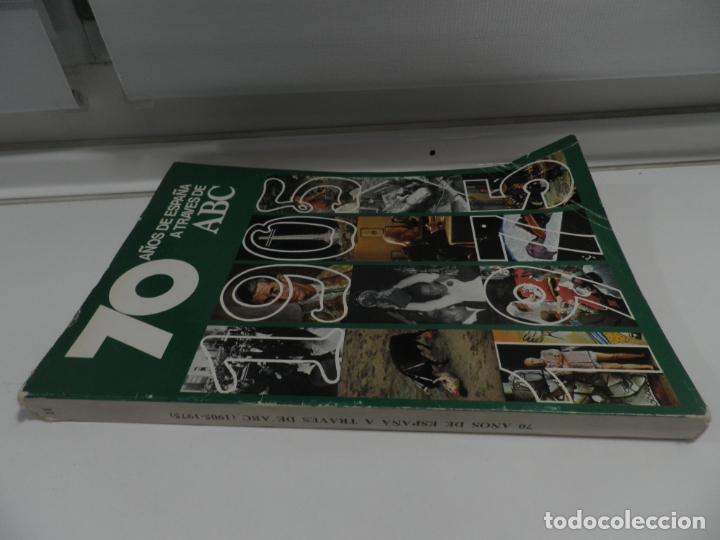 Coleccionismo de Los Domingos de ABC: 70 AÑOS DE ESPAÑA A TRAVÉS DE ABC. 1905 - 1975. VOLUMEN II - Foto 3 - 176481288
