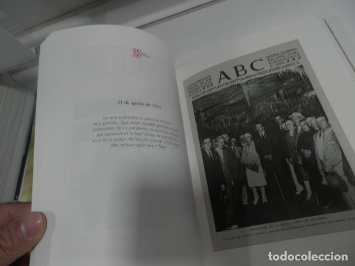 Coleccionismo de Los Domingos de ABC: ABC 100 AÑOS, 100 PORTADAS. 2003. PRIMERA EDICIÓN. IMÁGENES COMENTADAS POR CÁNDIDO. - Foto 3 - 176485547