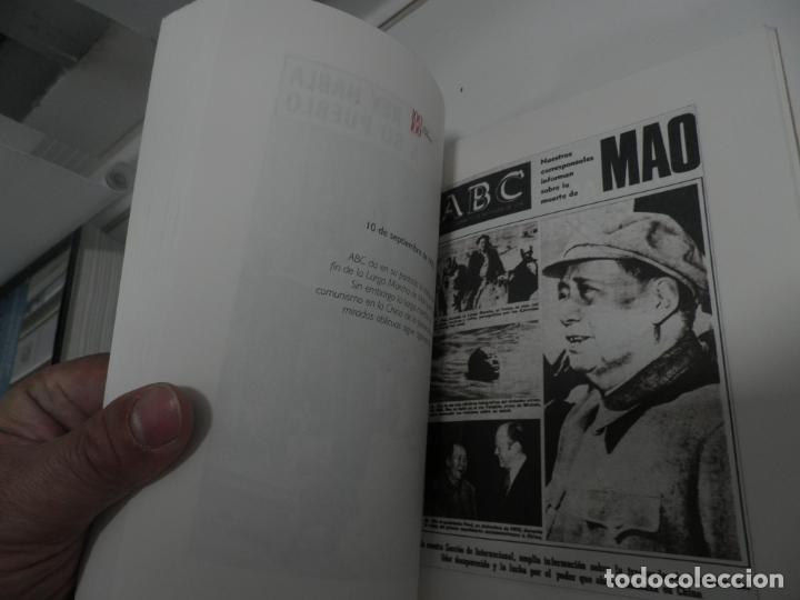 Coleccionismo de Los Domingos de ABC: ABC 100 AÑOS, 100 PORTADAS. 2003. PRIMERA EDICIÓN. IMÁGENES COMENTADAS POR CÁNDIDO. - Foto 6 - 176485547