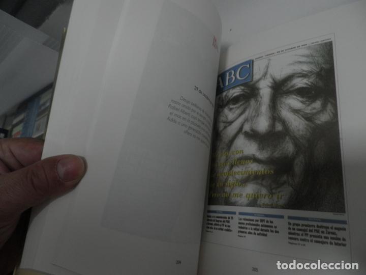 Coleccionismo de Los Domingos de ABC: ABC 100 AÑOS, 100 PORTADAS. 2003. PRIMERA EDICIÓN. IMÁGENES COMENTADAS POR CÁNDIDO. - Foto 7 - 176485547