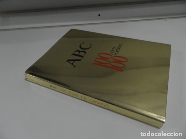 Coleccionismo de Los Domingos de ABC: ABC 100 AÑOS, 100 PORTADAS. 2003. PRIMERA EDICIÓN. IMÁGENES COMENTADAS POR CÁNDIDO. - Foto 10 - 176485547