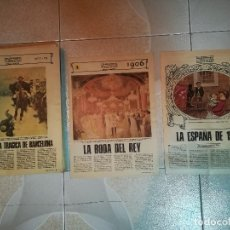 Coleccionismo de Los Domingos de ABC: 70 AÑOS DE ABC. COMPLETA. 76 FASCICULOS. Lote 176852445