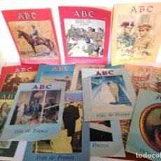 Coleccionismo de Los Domingos de ABC: COLECIONABLE ABC VIDA DE FRANCO. Lote 177838584