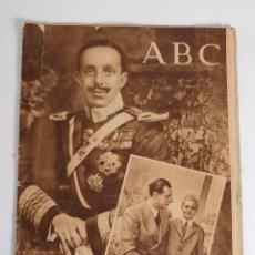 Coleccionismo de Los Domingos de ABC: ABC 27 DE FEBRERO DE 1949. EFEMÉRIDES MUERTE DE ALFONSO XIII. 1949. Lote 178282348