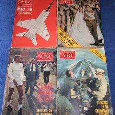 Coleccionismo de Los Domingos de ABC: LOTE DE 60 REVISTAS DE LOS DOMINGOS DE ABC - ABC (AÑOS 70). Lote 179335461