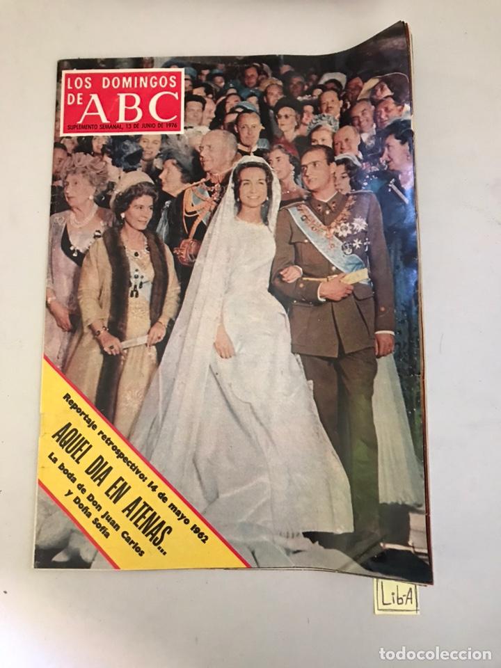 ABC AQUEL DÍA EN ATENAS (Coleccionismo - Revistas y Periódicos Modernos (a partir de 1.940) - Los Domingos de ABC)