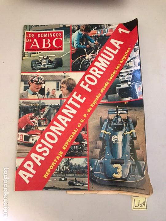 ABC APASIONANTE FÓRMULA 1 (Coleccionismo - Revistas y Periódicos Modernos (a partir de 1.940) - Los Domingos de ABC)