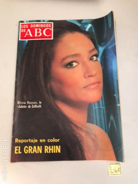 ABC EL GRAN RHIN (Coleccionismo - Revistas y Periódicos Modernos (a partir de 1.940) - Los Domingos de ABC)