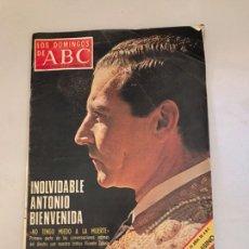 Coleccionismo de Los Domingos de ABC: ABC. INOLVIDABLE ANTONIO BIENVENIDA. Lote 179556731