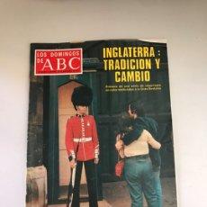 Coleccionismo de Los Domingos de ABC: ABC INGLATERRA TRADICIÓN Y CAMBIO. Lote 180036502
