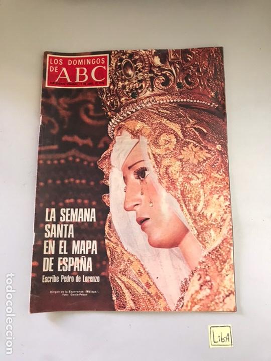 ABC - LA SEMANA SANTA EN EL MAPA DE ESPAÑA (Coleccionismo - Revistas y Periódicos Modernos (a partir de 1.940) - Los Domingos de ABC)