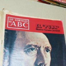 Coleccionismo de Los Domingos de ABC: LOS DOMINGOS DE ABC 18 SEPTIEMBRE 1977 . EL PUNK .VUELVE HITLER. Lote 180091936