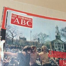Coleccionismo de Los Domingos de ABC: REVISTA LOS DOMINGOS DE ABC 29 JUNIO 1969 REVOLUCION SEXUAL. Lote 180112401