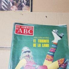 Coleccionismo de Los Domingos de ABC: LO DOMINGOS DE ABC 6 DE NOVIEMBRE 1977 SE MUEREN LAS PINTURAS DE ALTAMIRA. Lote 180244507