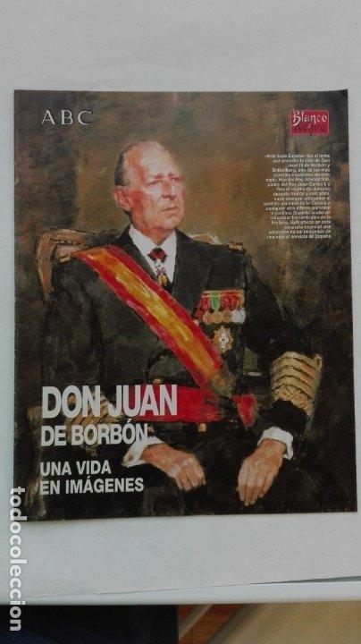 SEPARATA DE ABC , ESPECIAL DON JUAN DE BORBÓN. (Coleccionismo - Revistas y Periódicos Modernos (a partir de 1.940) - Los Domingos de ABC)