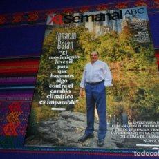 Coleccionismo de Los Domingos de ABC: ABC XL SEMANAL 1668. 13-10-19. IGNACIO GALÁN IBERDROLA BANKSY RUBÉN OLMO DIRECTO BALLET NACIONAL . Lote 182858967