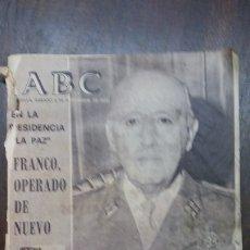 Coleccionismo de Los Domingos de ABC: SEVILLA, SABADO 8 DE NOVIEMBRE DE 1975, FRANCO OPERADO DE NUEVO, LA MARCHA VERDE.... Lote 183185015