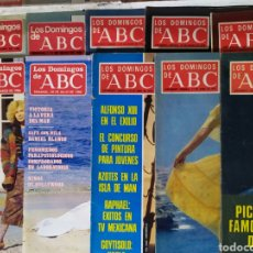 Coleccionismo de Los Domingos de ABC: 27 REVISTAS DOMINGOS DEL ABC. Lote 184136201