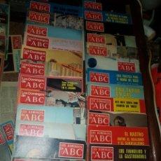 Coleccionismo de Los Domingos de ABC: 45 REVISTAS LOS DOMINGOS DE ABC AÑO 1974, 1979, 1980, 1984. Lote 184534273