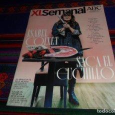 Coleccionismo de Los Domingos de ABC: ABC XL SEMANAL 1673. 23-11-19. ISABEL COIXET, FOODIE LOVE, MAR MENOR, TINDER.. Lote 184765495
