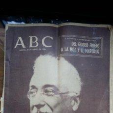Coleccionismo de Los Domingos de ABC: ABC - I NUMERO CONMEMORATIVO DEL GORRO FRIGIO A LA HOZ Y EL MARTILLO (1964). Lote 184886678
