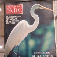 Coleccionismo de Los Domingos de ABC: T1 LOS DOMINGOS DE ABC. SUPLEMENTO SEMANAL. DE LAS CORTES AL REFERÉNDUM. FEBRERO 1977. Lote 186315256