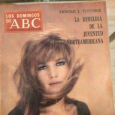 Collectionnisme de Los Domingos de ABC: T1 LOS DOMINGOS DE ABC. SUPLEMENTO SEMANAL. MÓNICA VITTI. EL MUNDO DEL DISCO. 1968. Lote 186323991