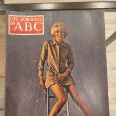 Coleccionismo de Los Domingos de ABC: T1 LOS DOMINGOS DE ABC. SUPLEMENTO SEMANAL. MIREILLE DARC. 1970. Lote 186352058