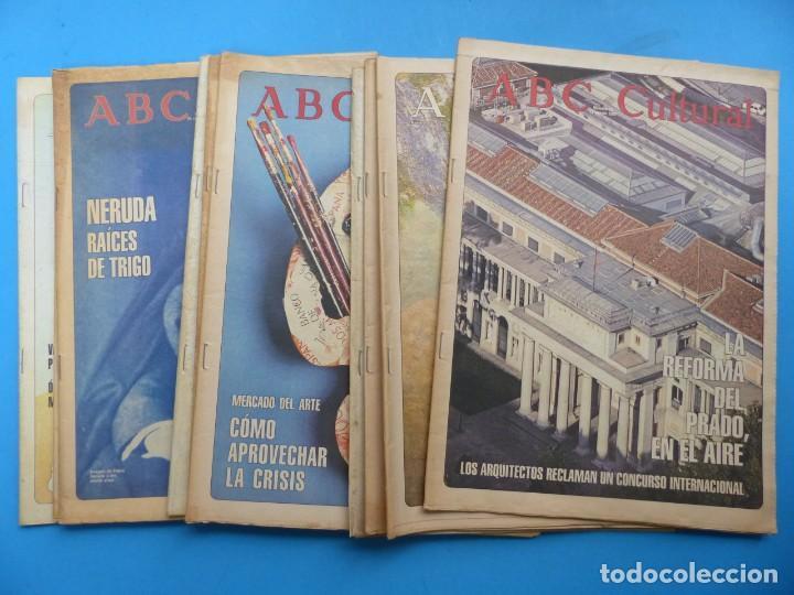ABC CULTURAL, 10 ANTIGUAS REVISTAS, AÑOS 1990 - VER FOTOS ADICIONALES (Coleccionismo - Revistas y Periódicos Modernos (a partir de 1.940) - Los Domingos de ABC)