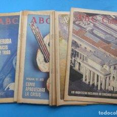 Coleccionismo de Los Domingos de ABC: ABC CULTURAL, 10 ANTIGUAS REVISTAS, AÑOS 1990 - VER FOTOS ADICIONALES. Lote 187611143