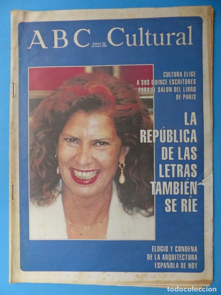 Coleccionismo de Los Domingos de ABC: ABC CULTURAL, 10 ANTIGUAS REVISTAS, AÑOS 1990 - VER FOTOS ADICIONALES - Foto 3 - 187611143