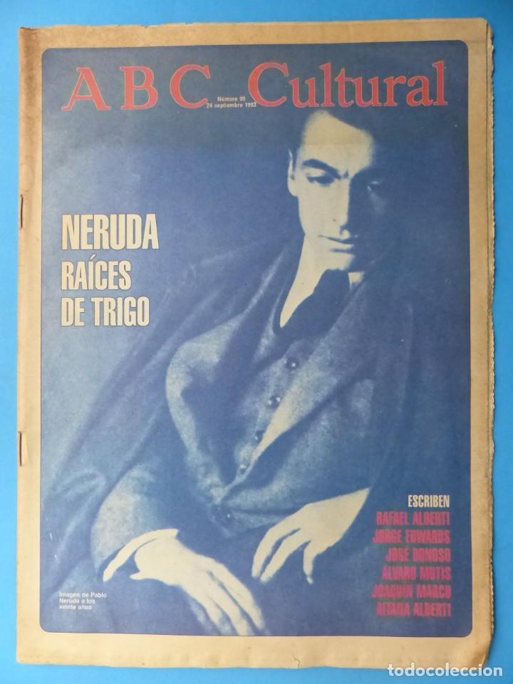 Coleccionismo de Los Domingos de ABC: ABC CULTURAL, 10 ANTIGUAS REVISTAS, AÑOS 1990 - VER FOTOS ADICIONALES - Foto 4 - 187611143