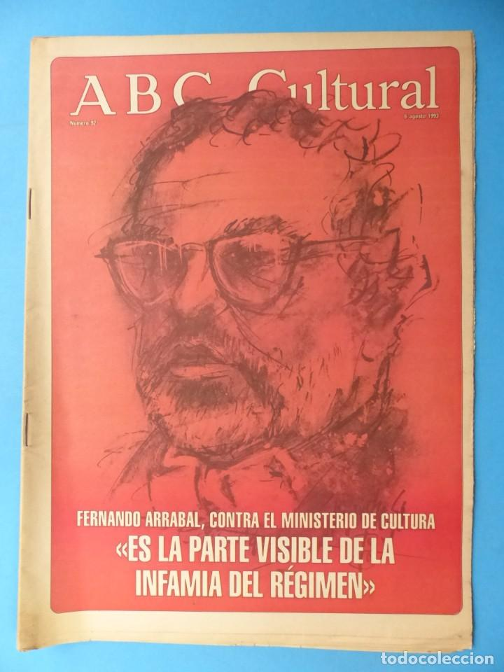 Coleccionismo de Los Domingos de ABC: ABC CULTURAL, 10 ANTIGUAS REVISTAS, AÑOS 1990 - VER FOTOS ADICIONALES - Foto 6 - 187611143