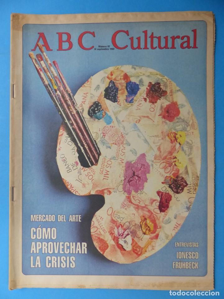 Coleccionismo de Los Domingos de ABC: ABC CULTURAL, 10 ANTIGUAS REVISTAS, AÑOS 1990 - VER FOTOS ADICIONALES - Foto 8 - 187611143