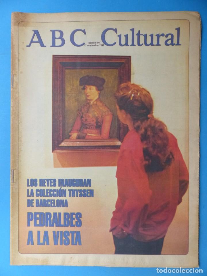 Coleccionismo de Los Domingos de ABC: ABC CULTURAL, 10 ANTIGUAS REVISTAS, AÑOS 1990 - VER FOTOS ADICIONALES - Foto 9 - 187611143